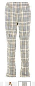 Pants - NWT Boohoo Check Tailored Pants